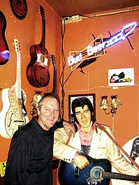 Perry 'n Elvis in Amsterdam